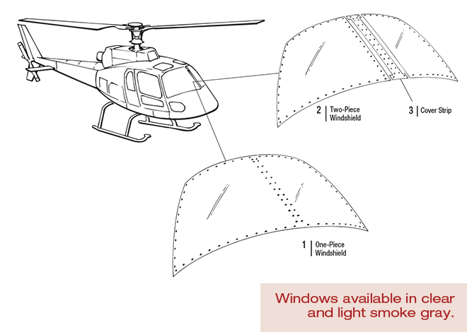 Airbus-AS350-Windshield