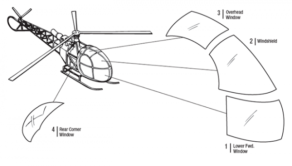 Airbus Alouette Helicopter | Tech-Tool Plastics