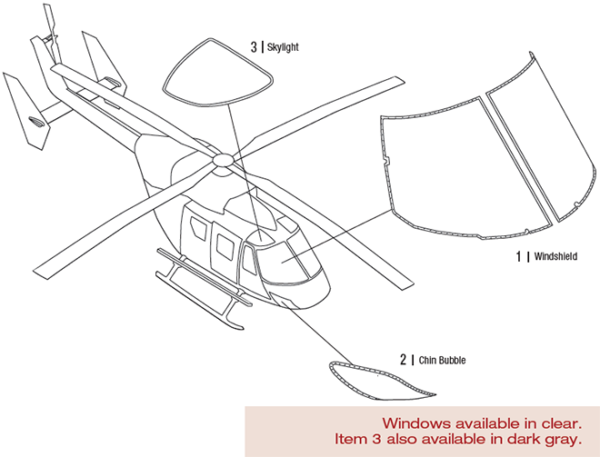 Airbus BK117A1 Helicopter | Tech-Tool Plastics