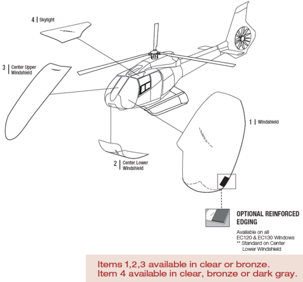 Airbus EC130B4 Helicopter | Tech-Tool Plastics